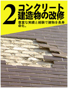 コンクリート建造物の改修